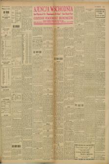 """Ajencja Wschodnia. Codzienne Wiadomości Ekonomiczne = Agence Télégraphique de l'Est = Telegraphenagentur """"Der Ostdienst"""" = Eastern Telegraphic Agency. R.8, nr 93 (24 kwietnia 1928)"""
