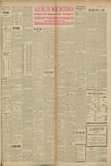 """Ajencja Wschodnia. Codzienne Wiadomości Ekonomiczne = Agence Télégraphique de l'Est = Telegraphenagentur """"Der Ostdienst"""" = Eastern Telegraphic Agency. R.8, nr 96 (27 kwietnia 1928)"""