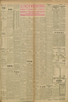 """Ajencja Wschodnia. Codzienne Wiadomości Ekonomiczne = Agence Télégraphique de l'Est = Telegraphenagentur """"Der Ostdienst"""" = Eastern Telegraphic Agency. R.8, nr 97 (28 kwietnia 1928)"""