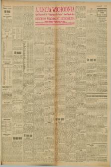 """Ajencja Wschodnia. Codzienne Wiadomości Ekonomiczne = Agence Télégraphique de l'Est = Telegraphenagentur """"Der Ostdienst"""" = Eastern Telegraphic Agency. R.8, Nr. 100 (2 maja 1928)"""