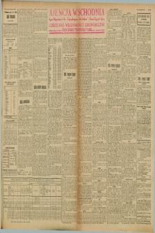 """Ajencja Wschodnia. Codzienne Wiadomości Ekonomiczne = Agence Télégraphique de l'Est = Telegraphenagentur """"Der Ostdienst"""" = Eastern Telegraphic Agency. R.8, Nr. 103 (6 i 7 maja 1928)"""