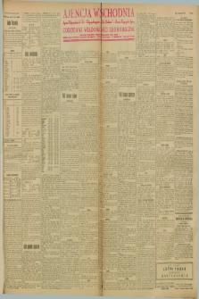 """Ajencja Wschodnia. Codzienne Wiadomości Ekonomiczne = Agence Télégraphique de l'Est = Telegraphenagentur """"Der Ostdienst"""" = Eastern Telegraphic Agency. R.8, Nr. 112 (17 i 18 maja 1928)"""