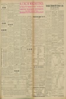 """Ajencja Wschodnia. Codzienne Wiadomości Ekonomiczne = Agence Télégraphique de l'Est = Telegraphenagentur """"Der Ostdienst"""" = Eastern Telegraphic Agency. R.8, Nr. 120 (27, 28 i 29 maja 1928)"""