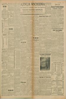 """Ajencja Wschodnia. Codzienne Wiadomości Ekonomiczne = Agence Télégraphique de l'Est = Telegraphenagentur """"Der Ostdienst"""" = Eastern Telegraphic Agency. R.8, Nr. 133 (14 czerwca 1928)"""