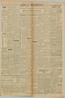 """Ajencja Wschodnia. Codzienne Wiadomości Ekonomiczne = Agence Télégraphique de l'Est = Telegraphenagentur """"Der Ostdienst"""" = Eastern Telegraphic Agency. R.8, Nr. 136 (17 i 18 czerwca 1928)"""