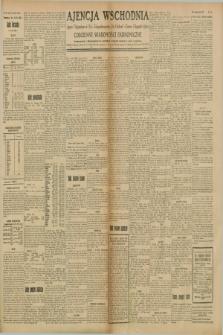 """Ajencja Wschodnia. Codzienne Wiadomości Ekonomiczne = Agence Télégraphique de l'Est = Telegraphenagentur """"Der Ostdienst"""" = Eastern Telegraphic Agency. R.8, Nr. 140 (22 czerwca 1928)"""