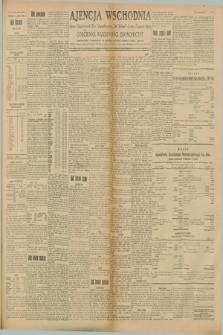 """Ajencja Wschodnia. Codzienne Wiadomości Ekonomiczne = Agence Télégraphique de l'Est = Telegraphenagentur """"Der Ostdienst"""" = Eastern Telegraphic Agency. R.8, Nr. 143 (26 czerwca 1928)"""