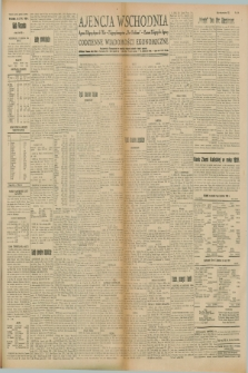 """Ajencja Wschodnia. Codzienne Wiadomości Ekonomiczne = Agence Télégraphique de l'Est = Telegraphenagentur """"Der Ostdienst"""" = Eastern Telegraphic Agency. R.8, Nr. 144 (27 czerwca 1928)"""