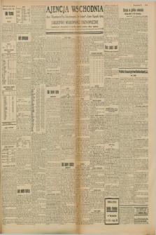 """Ajencja Wschodnia. Codzienne Wiadomości Ekonomiczne = Agence Télégraphique de l'Est = Telegraphenagentur """"Der Ostdienst"""" = Eastern Telegraphic Agency. R.8, Nr. 145 (28 czerwca 1928)"""
