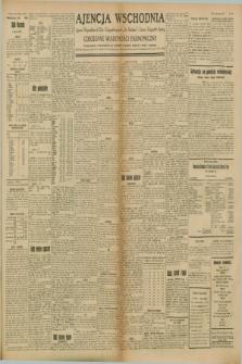 "Ajencja Wschodnia. Codzienne Wiadomości Ekonomiczne = Agence Télégraphique de l'Est = Telegraphenagentur ""Der Ostdienst"" = Eastern Telegraphic Agency. R.8, Nr. 149 (4 lipca 1928)"