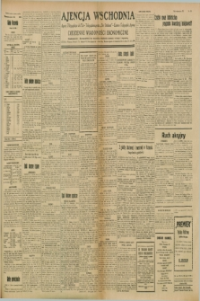 "Ajencja Wschodnia. Codzienne Wiadomości Ekonomiczne = Agence Télégraphique de l'Est = Telegraphenagentur ""Der Ostdienst"" = Eastern Telegraphic Agency. R.8, Nr. 150 (5 lipca 1928)"