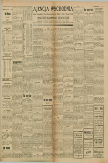 "Ajencja Wschodnia. Codzienne Wiadomości Ekonomiczne = Agence Télégraphique de l'Est = Telegraphenagentur ""Der Ostdienst"" = Eastern Telegraphic Agency. R.8, Nr. 151 (6 lipca 1928)"
