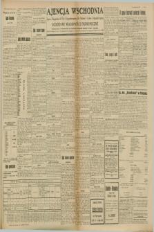 """Ajencja Wschodnia. Codzienne Wiadomości Ekonomiczne = Agence Télégraphique de l'Est = Telegraphenagentur """"Der Ostdienst"""" = Eastern Telegraphic Agency. R.8, Nr. 153 (8 i 9 lipca 1928)"""