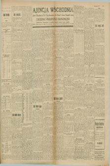 "Ajencja Wschodnia. Codzienne Wiadomości Ekonomiczne = Agence Télégraphique de l'Est = Telegraphenagentur ""Der Ostdienst"" = Eastern Telegraphic Agency. R.8, Nr. 154 (10 lipca 1928)"