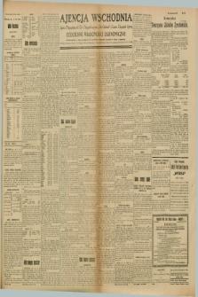 "Ajencja Wschodnia. Codzienne Wiadomości Ekonomiczne = Agence Télégraphique de l'Est = Telegraphenagentur ""Der Ostdienst"" = Eastern Telegraphic Agency. R.8, Nr. 155 (11 lipca 1928)"