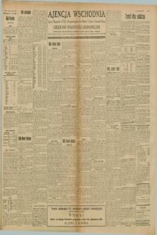 "Ajencja Wschodnia. Codzienne Wiadomości Ekonomiczne = Agence Télégraphique de l'Est = Telegraphenagentur ""Der Ostdienst"" = Eastern Telegraphic Agency. R.8, Nr. 156 (12 lipca 1928)"