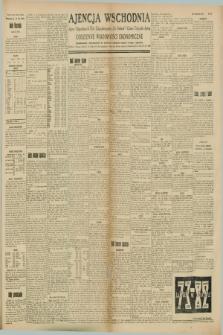 "Ajencja Wschodnia. Codzienne Wiadomości Ekonomiczne = Agence Télégraphique de l'Est = Telegraphenagentur ""Der Ostdienst"" = Eastern Telegraphic Agency. R.8, Nr. 157 (13 lipca 1928)"
