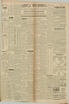 "Ajencja Wschodnia. Codzienne Wiadomości Ekonomiczne = Agence Télégraphique de l'Est = Telegraphenagentur ""Der Ostdienst"" = Eastern Telegraphic Agency. R.8, Nr. 158 (14 lipca 1928)"