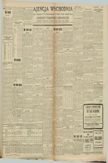 """Ajencja Wschodnia. Codzienne Wiadomości Ekonomiczne = Agence Télégraphique de l'Est = Telegraphenagentur """"Der Ostdienst"""" = Eastern Telegraphic Agency. R.8, Nr. 159 (15 i 16 lipca 1928)"""