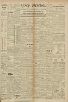 "Ajencja Wschodnia. Codzienne Wiadomości Ekonomiczne = Agence Télégraphique de l'Est = Telegraphenagentur ""Der Ostdienst"" = Eastern Telegraphic Agency. R.8, Nr. 162 (19 lipca 1928)"