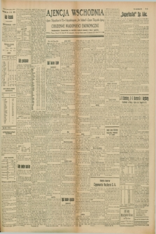 "Ajencja Wschodnia. Codzienne Wiadomości Ekonomiczne = Agence Télégraphique de l'Est = Telegraphenagentur ""Der Ostdienst"" = Eastern Telegraphic Agency. R.8, Nr. 164 (21 lipca 1928)"