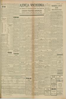"""Ajencja Wschodnia. Codzienne Wiadomości Ekonomiczne = Agence Télégraphique de l'Est = Telegraphenagentur """"Der Ostdienst"""" = Eastern Telegraphic Agency. R.8, Nr. 165 (22 i 23 lipca 1928)"""