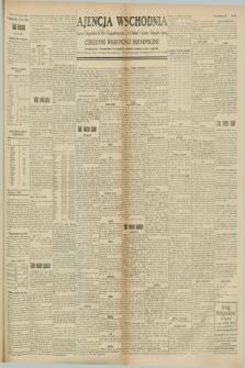 "Ajencja Wschodnia. Codzienne Wiadomości Ekonomiczne = Agence Télégraphique de l'Est = Telegraphenagentur ""Der Ostdienst"" = Eastern Telegraphic Agency. R.8, Nr. 166 (24 lipca 1928)"