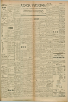 "Ajencja Wschodnia. Codzienne Wiadomości Ekonomiczne = Agence Télégraphique de l'Est = Telegraphenagentur ""Der Ostdienst"" = Eastern Telegraphic Agency. R.8, Nr. 170 (28 lipca 1928)"