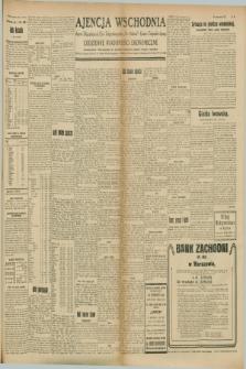 "Ajencja Wschodnia. Codzienne Wiadomości Ekonomiczne = Agence Télégraphique de l'Est = Telegraphenagentur ""Der Ostdienst"" = Eastern Telegraphic Agency. R.8, Nr. 174 (2 sierpnia 1928)"