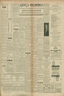 "Ajencja Wschodnia. Codzienne Wiadomości Ekonomiczne = Agence Télégraphique de l'Est = Telegraphenagentur ""Der Ostdienst"" = Eastern Telegraphic Agency. R.8, Nr. 177 (5 i 6 sierpnia 1928)"