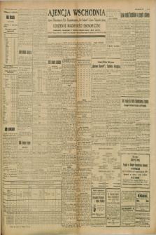 "Ajencja Wschodnia. Codzienne Wiadomości Ekonomiczne = Agence Télégraphique de l'Est = Telegraphenagentur ""Der Ostdienst"" = Eastern Telegraphic Agency. R.8, Nr. 183 (12 i 13 sierpnia 1928)"