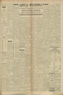 "Ajencja Wschodnia. Codzienne Wiadomości Ekonomiczne = Agence Télégraphique de l'Est = Telegraphenagentur ""Der Ostdienst"" = Eastern Telegraphic Agency. R.8, Nr. 186 (17 sierpnia 1928)"