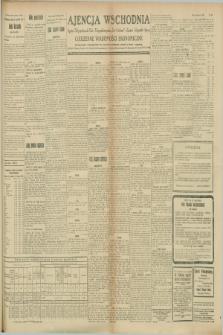 "Ajencja Wschodnia. Codzienne Wiadomości Ekonomiczne = Agence Télégraphique de l'Est = Telegraphenagentur ""Der Ostdienst"" = Eastern Telegraphic Agency. R.8, Nr. 188 (19 i 20 sierpnia 1928)"