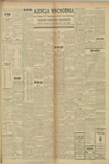 "Ajencja Wschodnia. Codzienne Wiadomości Ekonomiczne = Agence Télégraphique de l'Est = Telegraphenagentur ""Der Ostdienst"" = Eastern Telegraphic Agency. R.8, Nr. 189 (21 sierpnia 1928)"