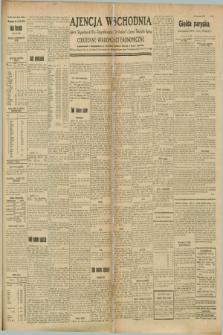 "Ajencja Wschodnia. Codzienne Wiadomości Ekonomiczne = Agence Télégraphique de l'Est = Telegraphenagentur ""Der Ostdienst"" = Eastern Telegraphic Agency. R.8, Nr. 191 (23 sierpnia 1928)"