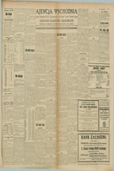 "Ajencja Wschodnia. Codzienne Wiadomości Ekonomiczne = Agence Télégraphique de l'Est = Telegraphenagentur ""Der Ostdienst"" = Eastern Telegraphic Agency. R.8, Nr. 195 (28 sierpnia 1928)"