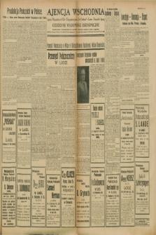 "Ajencja Wschodnia. Codzienne Wiadomości Ekonomiczne = Agence Télégraphique de l'Est = Telegraphenagentur ""Der Ostdienst"" = Eastern Telegraphic Agency. R.8, Nr. 196 ([29 sierpnia] 1928)"