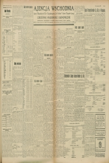 "Ajencja Wschodnia. Codzienne Wiadomości Ekonomiczne = Agence Télégraphique de l'Est = Telegraphenagentur ""Der Ostdienst"" = Eastern Telegraphic Agency. R.8, Nr. 197 (30 sierpnia 1928)"