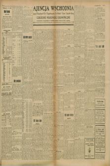 """Ajencja Wschodnia. Codzienne Wiadomości Ekonomiczne = Agence Télégraphique de l'Est = Telegraphenagentur """"Der Ostdienst"""" = Eastern Telegraphic Agency. R.8, Nr. 199 (1 września 1928)"""