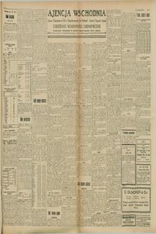 """Ajencja Wschodnia. Codzienne Wiadomości Ekonomiczne = Agence Télégraphique de l'Est = Telegraphenagentur """"Der Ostdienst"""" = Eastern Telegraphic Agency. R.8, Nr. 201 (4 września 1928)"""