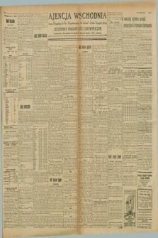 """Ajencja Wschodnia. Codzienne Wiadomości Ekonomiczne = Agence Télégraphique de l'Est = Telegraphenagentur """"Der Ostdienst"""" = Eastern Telegraphic Agency. R.8, Nr. 202 (5 września 1928)"""
