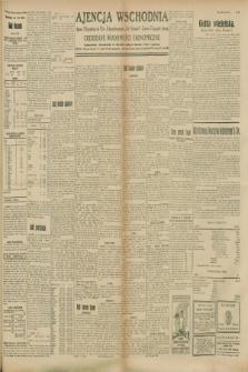 """Ajencja Wschodnia. Codzienne Wiadomości Ekonomiczne = Agence Télégraphique de l'Est = Telegraphenagentur """"Der Ostdienst"""" = Eastern Telegraphic Agency. R.8, Nr. 203 (6 września 1928)"""