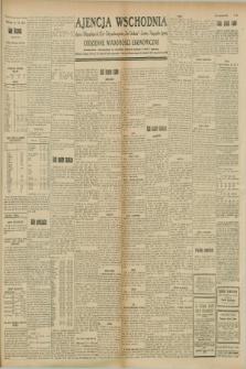 """Ajencja Wschodnia. Codzienne Wiadomości Ekonomiczne = Agence Télégraphique de l'Est = Telegraphenagentur """"Der Ostdienst"""" = Eastern Telegraphic Agency. R.8, Nr. 204 (7 września 1928)"""