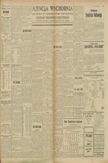 """Ajencja Wschodnia. Codzienne Wiadomości Ekonomiczne = Agence Télégraphique de l'Est = Telegraphenagentur """"Der Ostdienst"""" = Eastern Telegraphic Agency. R.8, Nr. 205 (8 września 1928)"""