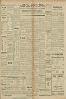 """Ajencja Wschodnia. Codzienne Wiadomości Ekonomiczne = Agence Télégraphique de l'Est = Telegraphenagentur """"Der Ostdienst"""" = Eastern Telegraphic Agency. R.8, Nr. 206 (9 i 10 września 1928)"""