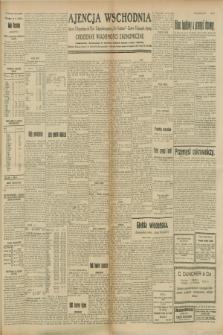 """Ajencja Wschodnia. Codzienne Wiadomości Ekonomiczne = Agence Télégraphique de l'Est = Telegraphenagentur """"Der Ostdienst"""" = Eastern Telegraphic Agency. R.8, Nr. 207 (11 września 1928)"""