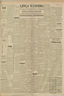"""Ajencja Wschodnia. Codzienne Wiadomości Ekonomiczne = Agence Télégraphique de l'Est = Telegraphenagentur """"Der Ostdienst"""" = Eastern Telegraphic Agency. R.8, Nr. 208 (12 września 1928)"""