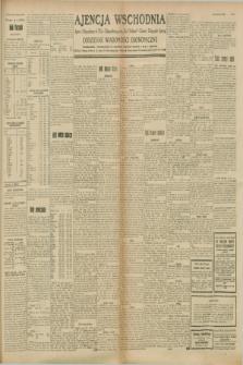 """Ajencja Wschodnia. Codzienne Wiadomości Ekonomiczne = Agence Télégraphique de l'Est = Telegraphenagentur """"Der Ostdienst"""" = Eastern Telegraphic Agency. R.8, nr 210 (14 września 1928)"""
