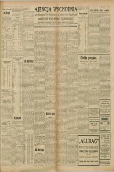 """Ajencja Wschodnia. Codzienne Wiadomości Ekonomiczne = Agence Télégraphique de l'Est = Telegraphenagentur """"Der Ostdienst"""" = Eastern Telegraphic Agency. R.8, nr 211 (15 września 1928)"""