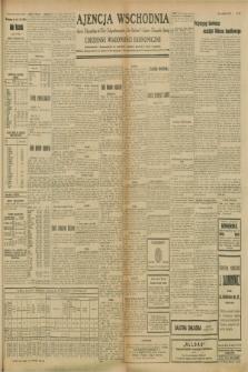 """Ajencja Wschodnia. Codzienne Wiadomości Ekonomiczne = Agence Télégraphique de l'Est = Telegraphenagentur """"Der Ostdienst"""" = Eastern Telegraphic Agency. R.8, nr 212 (16 i 17 września 1928)"""